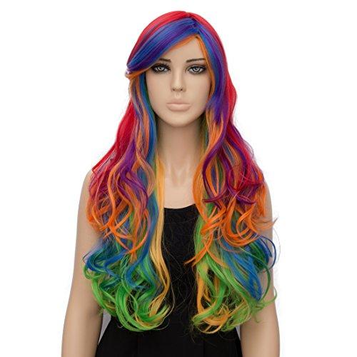 Netgo Colorful Rainbow Costume Halloween