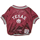 Texas A&M Aggies Dog Jersey Leash & Collar Set Large