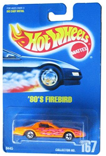 Hot Wheels 80's Firebird All Blue Card #167 Without Extra Lightning - Firebird Bolt