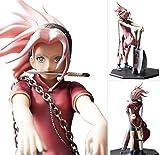 Shalleen D.P.C.F Sakura Reviving Sharingan Anime Figure Figurine NO BOX