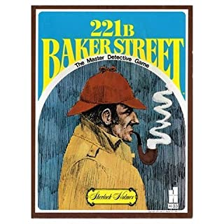 John N. Hansen New Sherlock Holmes 221B Baker Street Board Game