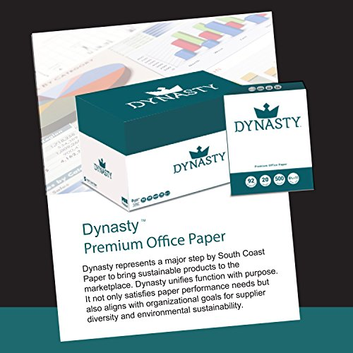 Dynasty Copy Paper, White Paper, 8.5 x 11, Letter, 92 Bright, 10 Reams - Diversity Product, MBE Certified (200550C) by DYNASTY (Image #3)
