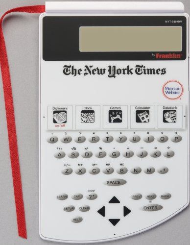 Franklin NYT-540 New York Times PageMark Dictionary (Puzzle New Electronic York)