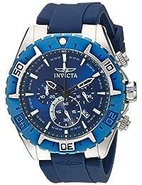 Invicta Men's 22522 Aviator Analog Display Quartz Blue Watch