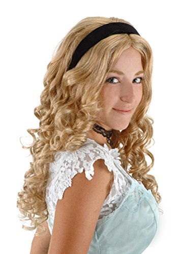 elope Alice in Wonderland Alice Wig with Headband]()