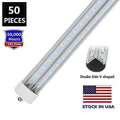 8FT T8/T10/T12 FA8 Base LED Tube Light Bulbs