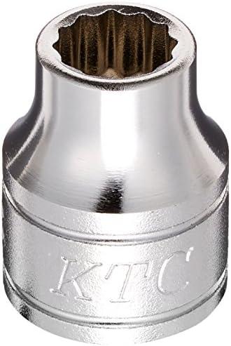 京都機械工具(KTC) ソケット 12角 B3-08W-H 差込角:9.5mm