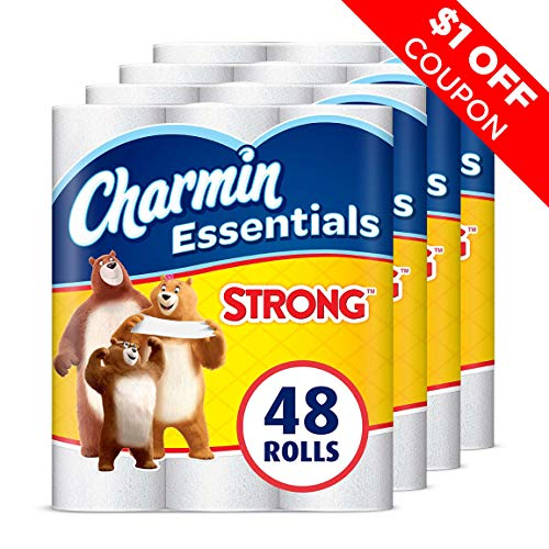 Charmin Essentails Strong Toilet Paper, 48 Giant Rolls