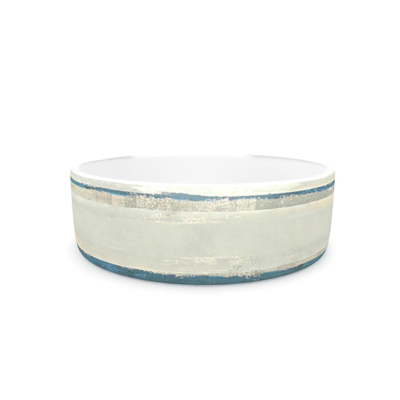 Kess InHouse CarolLynn Tice Input  Pet Bowl, 7-Inch, Light Tan