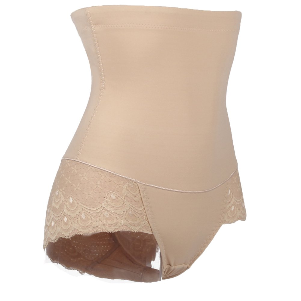 TINGLU High Waist Butt Lifter with Steel Bone Breathable Body Shaper Panty for Women