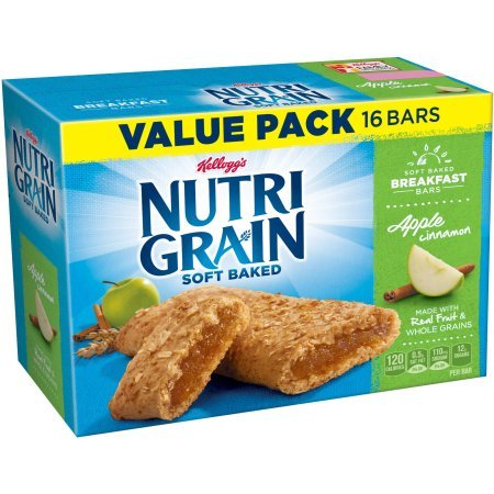 Kellogg's 1.3oz Nutri-Grain 16 count Soft Baked Apple Cinnamon Bar