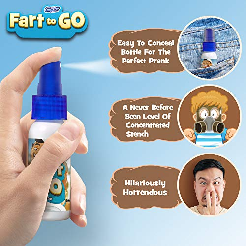Fart to Go Extra Strong Liquid Fart Spray Funny Gag Gift - Prank Your Friends, Make Them Run and Mak - http://coolthings.us