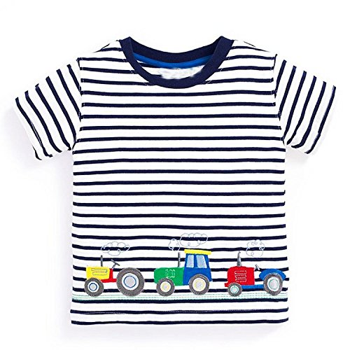 Boys Tops Summer 2018 Brand Children t-Shirts Kids Clothing Children t-Shirt Fille 100% Cotton Character Print Baby Clothes,81,6