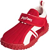 Playshoes Children's Aqua Beach Water Shoes (2 M US Little Kid, Red)