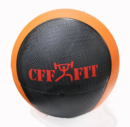 CFF Deluxe Rubber Medicine Ball, 10-Pound