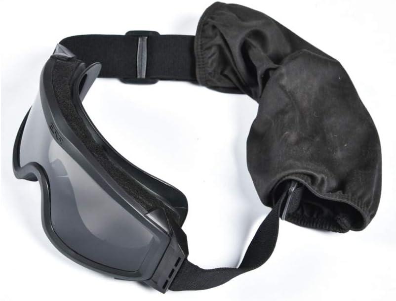 LJH táctico Gafas Anti-Choque Shot Glasses Asalto Ejército CS Ventilador Gafas de protección de la Fuerza Especial de Camuflaje LJ