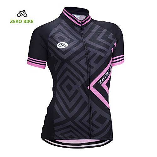 ZEROBIKE Women's Short Sleeve Cycling Jersey Jacket Cycling Shirt Quick Dry Breathable Mountain Clothing Bike - Cycling Jerseys Womens