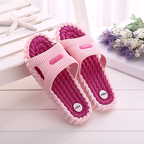 la Home Home 39 38 e 40 all'aperto 39 plastica Room chiaro Sandali Casa verde Indoor Pantofole BAOZIV587 pantofole per Bagno leggera casa donne per Bagno di Estate SPX0Zqg