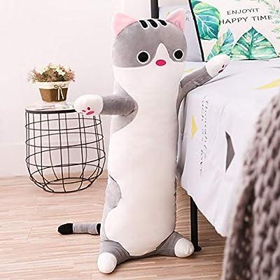Almohada de Felpa para Gatos de 70/90/110 cm de Largo, Suave ...
