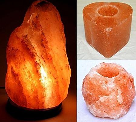 Lampada di sale Salgemma dellHimalaya 25-30 kg CON CERTIFICATO DI GARANZIA