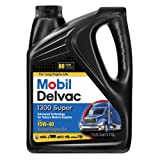 mobile 1 15w40 - Mobil 1 112786 Delvac 1300 Super 15W-40 Diesel Engine Oil - 4 Gallon Pack
