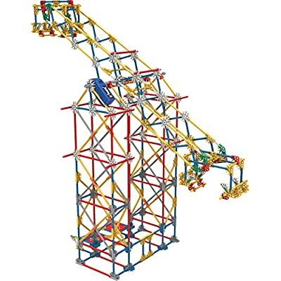 K'NEX Thrill Rides - 3-in-1 Classic Amusement Park Building Set: Toys & Games