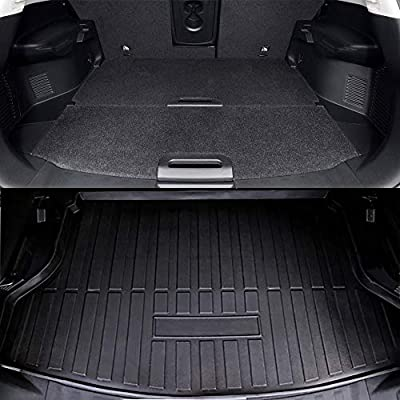 Kaungka Cargo Liner Rear Cargo Tray Trunk 2020 2020 Floor Mat Waterproof Protector for 2014-2020 Nissan Rogue SV S SL: Home Improvement