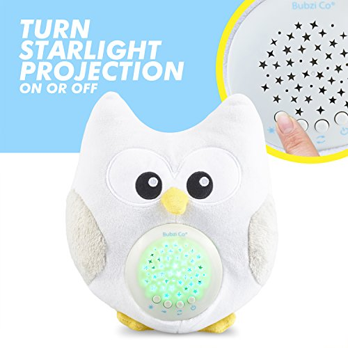 Bubzi Co White Noise Sound Machine Amp Sleep Aid Night Light