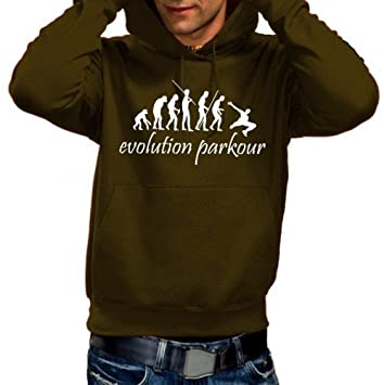 Coole-Fun-T-Shirts Parkour - Evolution. S - XXXL T-Shirt dans ... 32baac06bc2e