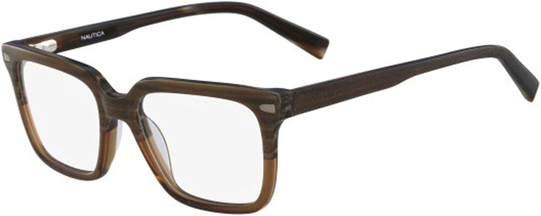 Eyeglasses NAUTICA N8130 219 WOOD//BROWN