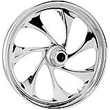 RC Components Drifter Chrome 21x3.5 Front Wheel , Color: Chrome, Position: Front, Rim Size: 21 21350-9917-101C
