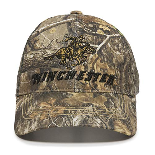 Winchester Realtree Edge Mesh Horse Rider Hunting Hat