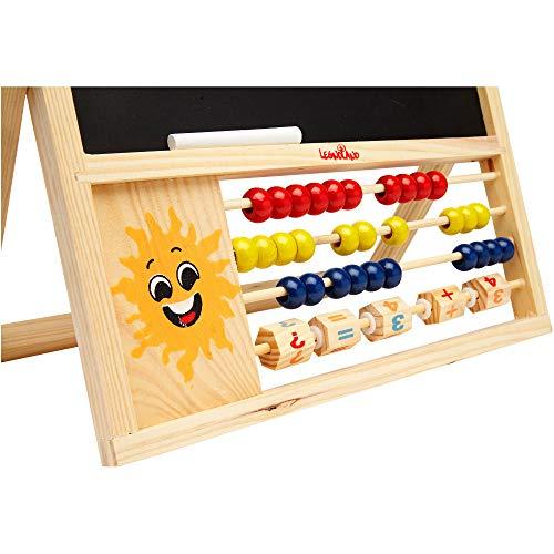 Amazon.com: Globo Toys Globo - 36881 2-in-1 Legnoland Wooden ...