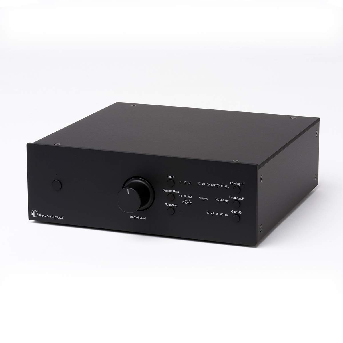 Pro-Ject Phono Box DS2 USB Phono Preamplifier - Black