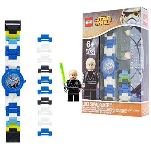 63 opinioni per LEGO 9002892 Star Wars Luke Skywalker Orologio da Bambini