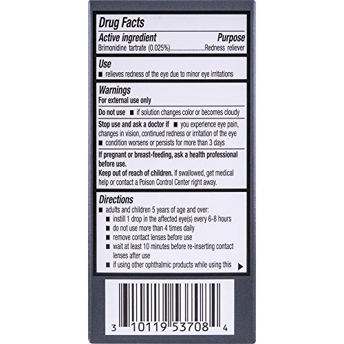 Lumify Redness Reliever Eye Drops, 0.08 Ounce (2.5mL)