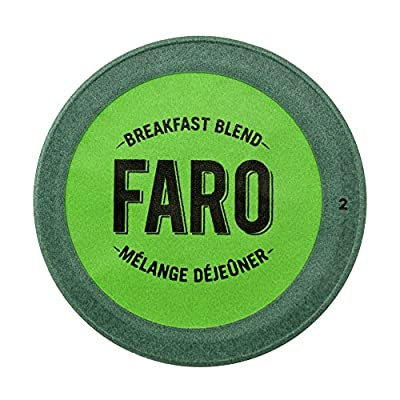 Faro Breakfast Blend, Light Roast Coffee. 100% Compostable, Organic, Fair Trade Single Serve Cups for Keurig K-Cup Brewers