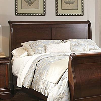 Liberty Furniture Carriage Court Queen Sleigh Headboard in Mahogany