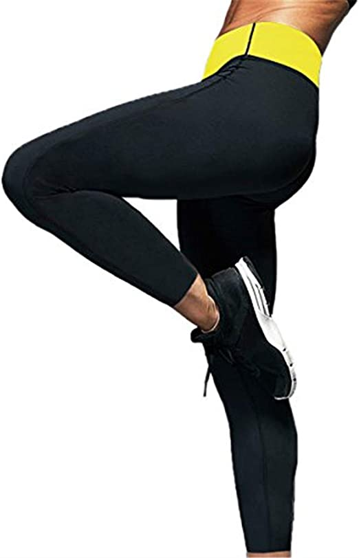 Women/'s Slimming Pants Hot Thermo Neoprene Sweat Sauna Body Shapers Weight Loss