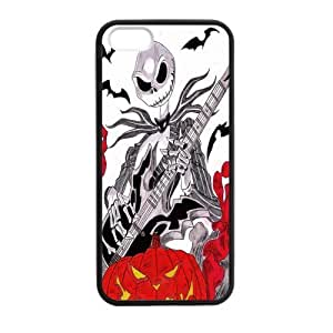 Jack Skellington Custom Case for iPhone 5,5S TPU (Laser Technology)
