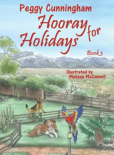 Hooray for Holidays: Book 3: Bolivian Independence Parrot, Labor Day Dog, and Columbus Day Cat by Pix-N-Pens Publishing (Image #1)