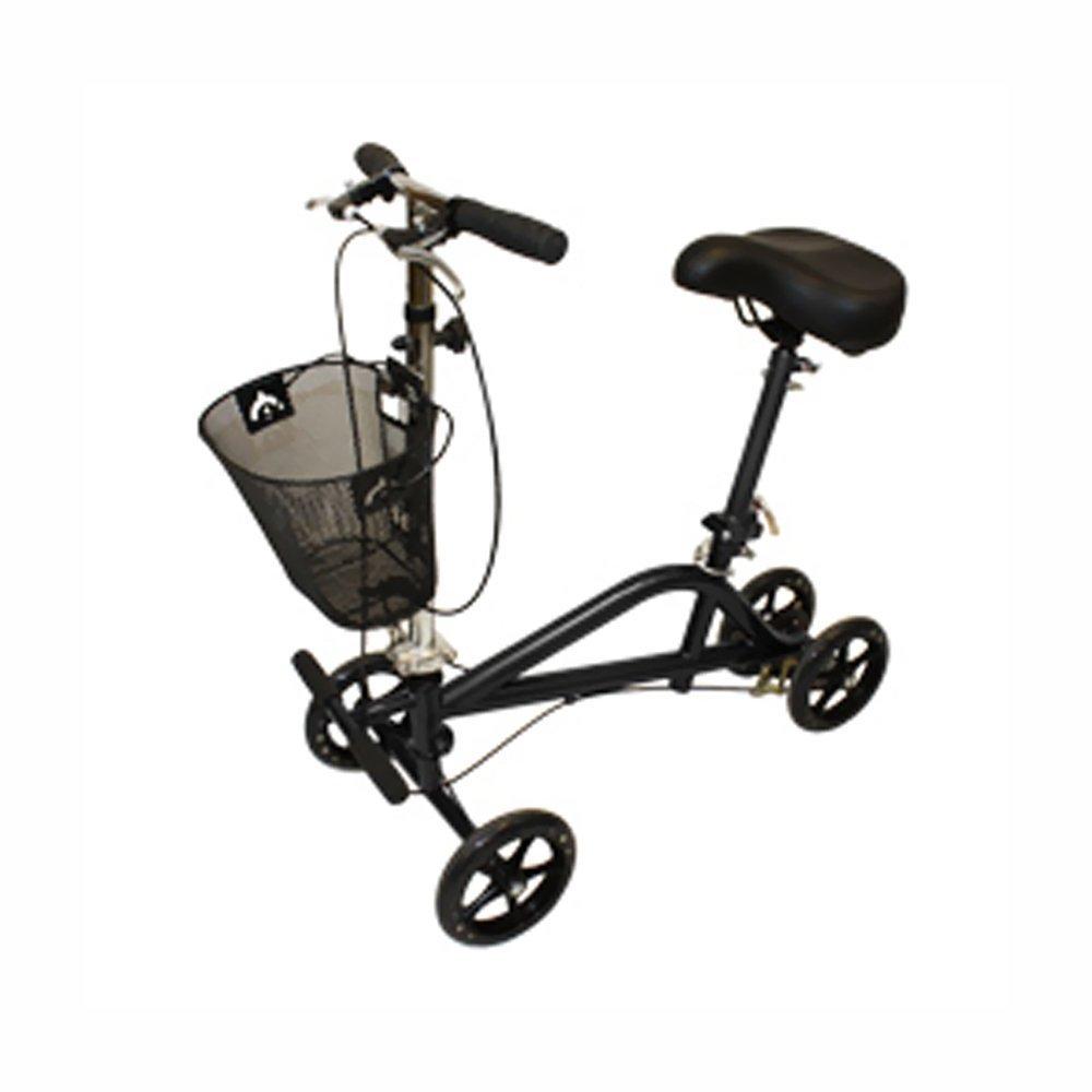 Roscoe Medical - Gemini Seated Scooter (Black Powder Coat) - CM