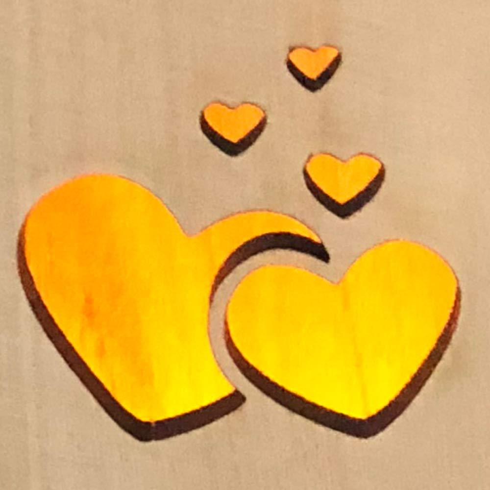 ukgiftstoreonline Mum and Dad Remembrance Memorial Sentiment LED Tealight Holder Keepsake