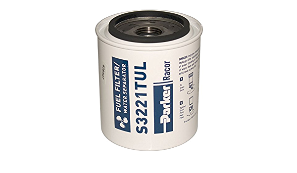 Racor 10 Micron Fuel Water Separating Filter S3221TUL