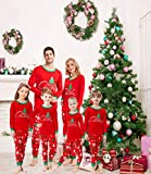 Matching Family Pajamas Christmas Tree Boys and