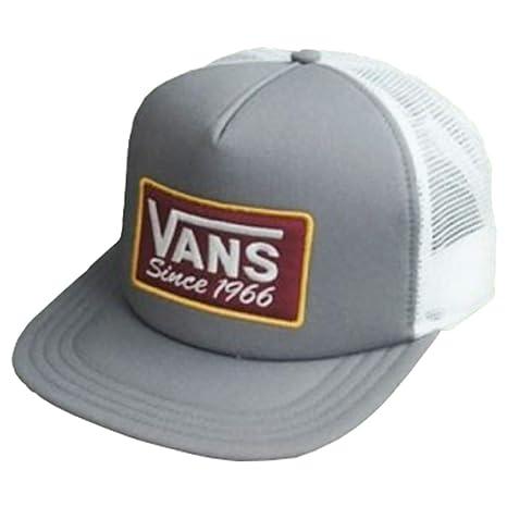 Vans VN0A3DLDPWT - Gorro para Hombre, Color Gris y Blanco: Amazon ...