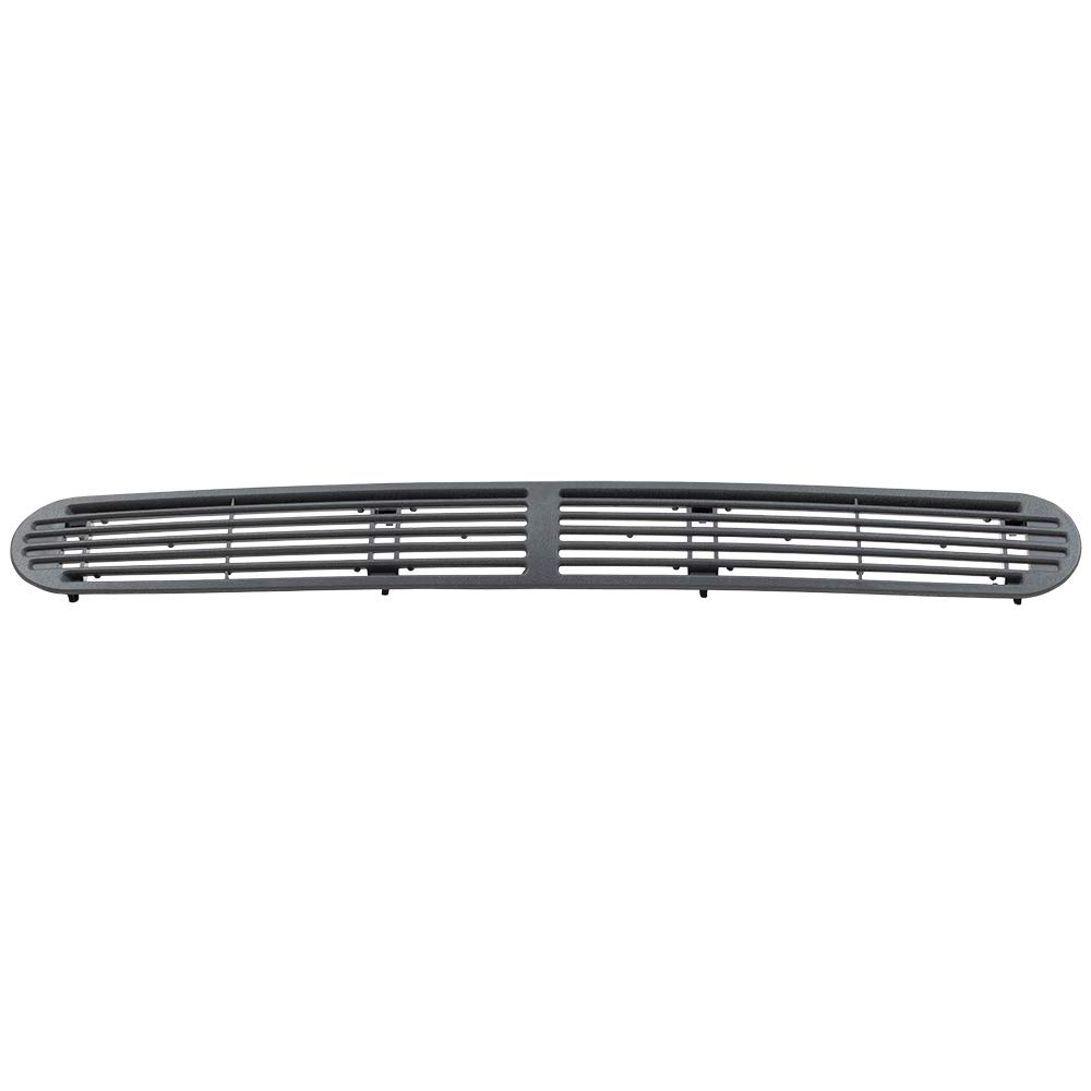 Dark Gray Graphite Dash Defrost Vent Cover Grille Panel Replacement for Chevrolet GMC Oldsmobile SUV Pickup Truck 15046436