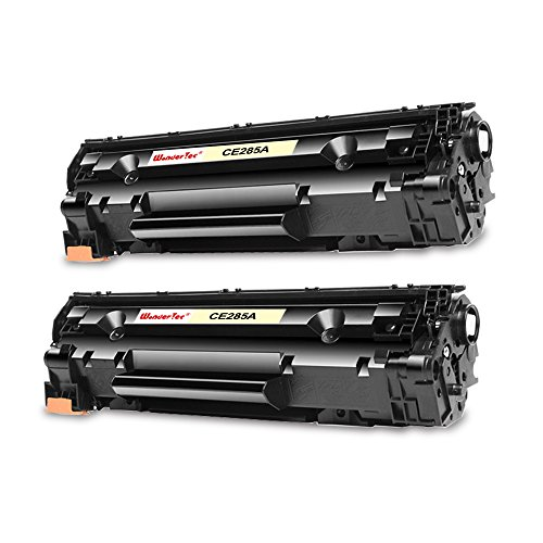 2 Pack WonderTec Compatible HP Laserjet P1102W Toner,hp p1102w toner cartridge,p1102w printer cartridge,p1102w laser printer toner, HP 1102 toner,p1102w ink cartridge,CE285A Toner Cartridge 85A by WonderTec