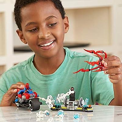 LEGO Marvel Spider-Man: Spider-Man Bike Rescue 76113 Building Kit (235 Pieces): Toys & Games