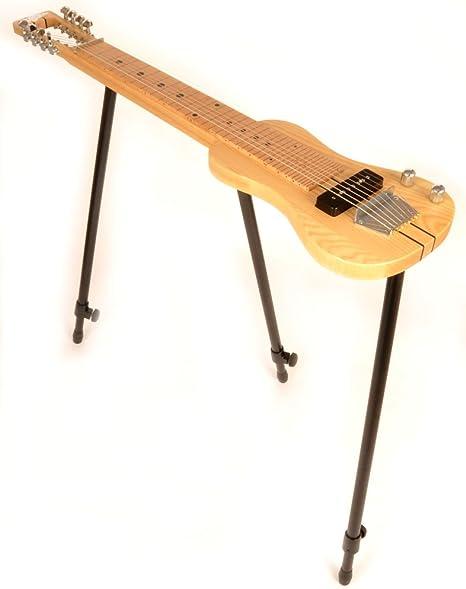 SX 8 Nat 8 cadena Lap Steel guitarra w/libre soporte desmontable y ...